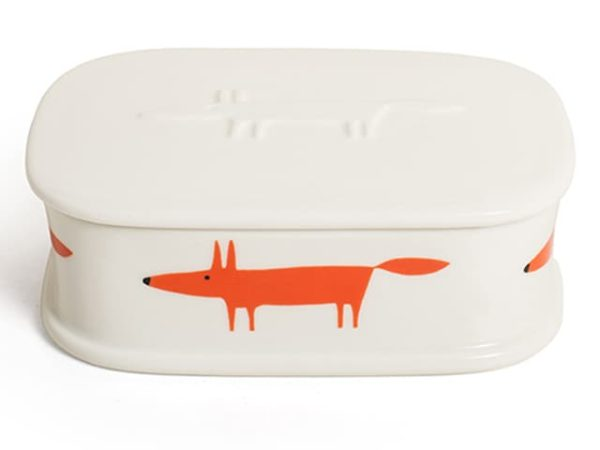 Scion Living Mr Fox Trinket Box Oval
