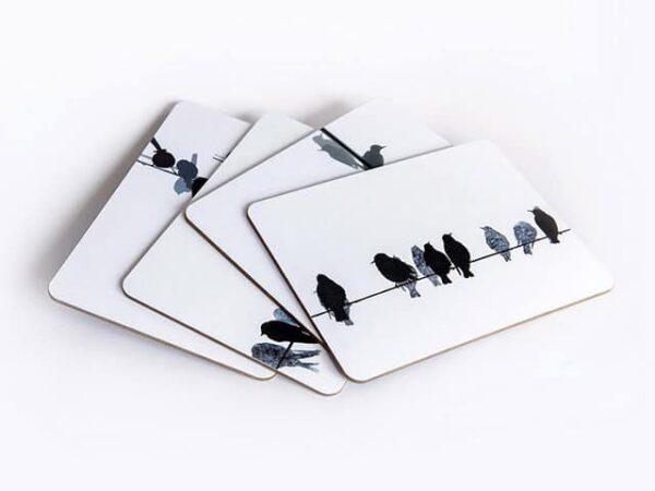 Sandra Vick Pentlands Birds Place Mats (sets of 4 boxed)