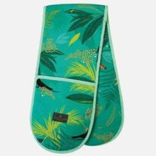 Sara Miller Double Toucan Repeat Oven Glove