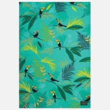 Sara Miller Toucan Repeat Tea Towel