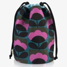 Orla Kiely Spring Bloom Barrel Wash Bag