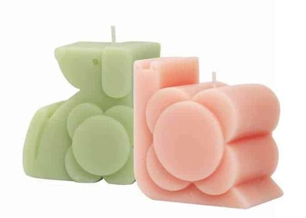 Orla Kiely Moulded Dog & Snail Candle Gift Set 200g