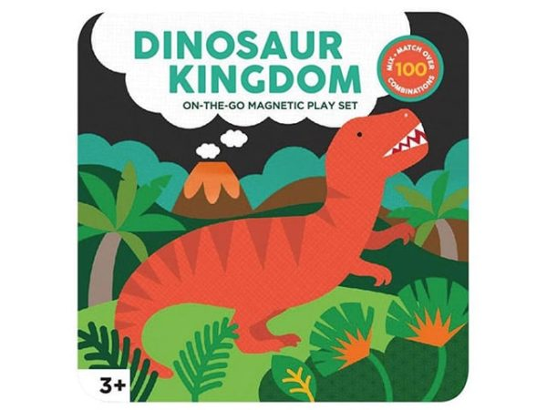 Petit Collage Dinosaurs Magnetic Play Set