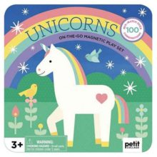 Petit Collage Unicorns Magnetic Play Set