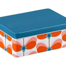 Orla Kiely Butterfly Stem Storage Tin
