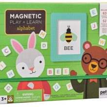 Petit Collage Alphabet Magnetic Play Set