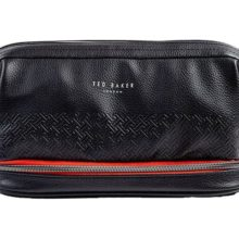 Ted Baker Black T Cables & Clobber Tidy Bag