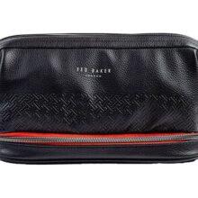 Ted Baker Black T Cables & Clobber Tidy Bag
