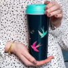 Sara Miller Travel Mug Swallows Hands