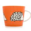 Scion Living Orange Spike Hedgehog Mug