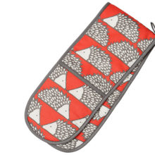 Scion Spike Hedgehog Red Double Oven Glove