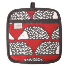 Scion Spike Hedgehog Pot Holder Red