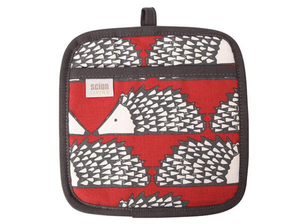 Scion Spike Hedgehog Pot Holder Red