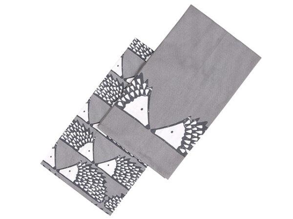 Scion Spike Hedgehog Tea Towels Dark Grey Set of 2