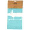 Scion Mr Fox Teal Tea Towels Set of 2