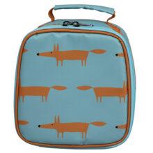 Scion Mr Fox Lunch Bag Blue