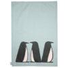 Scion Pedro Penguin Tea Towels Set of 2 Ice