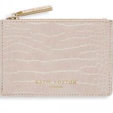 Katie Loxton Celine Faux Croc Coin Purse | Oyster