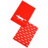 Scion Mr Fox Red Tea Towels Set of 2