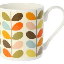 Orla Kiely Multi Colour Ten Stem Mug 300ml