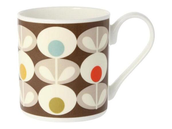 Orla Kiely Multi Oval Mug