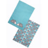 Scion Spike Hedgehog Aqua Tea Towels Set of 2