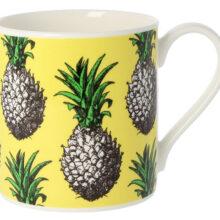 Alice Scott Yellow Pineapple Mug 350ml