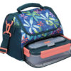Built NY Tropics Lunch Bag 6 Litre with Storage Compartment Open