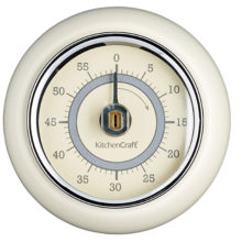 Living Nostalgia Antique Cream Magnetic Kitchen Timer