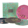 Sara Miller Chelsea Collection Cake Plates Set of 4
