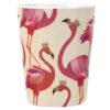 Sara Miller Flamingo Melamine Beakers Set of 4