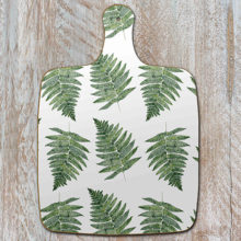Toasted Crumpet Woodland Fern Pure Chopping Board