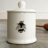 Toasted Crumpet Honey Pot Set