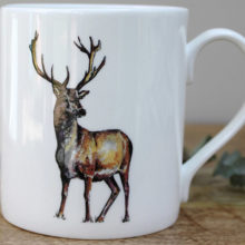 Toasted Crumpet Stag Mug in a Gift Box