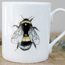Toasted Crumpet Bee Mug in a Gift Box