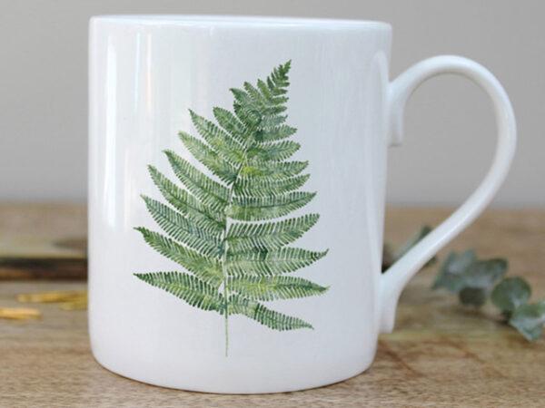 Toasted Crumpet Fern Mug in a Gift Box