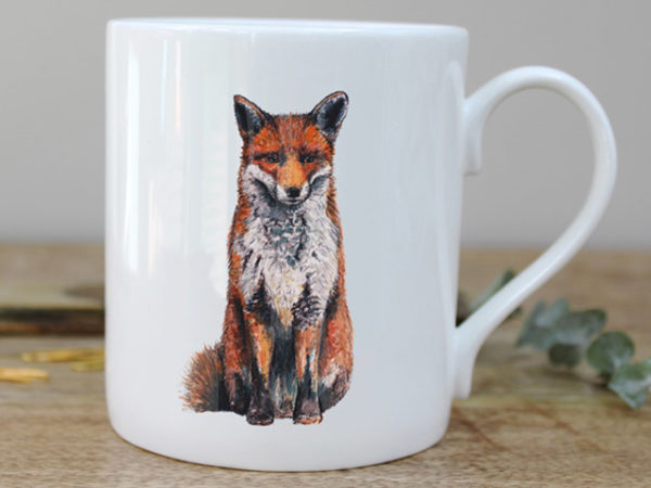 Toasted Crumpet Fox Mug in a Gift Box