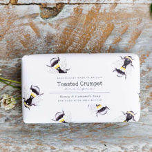 Toasted Crumpet Honey & Camomile 190g Soap Bar