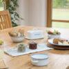 Living Nostalgia Enamel Butter Dish Lifestyle