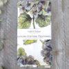 Toasted Crumpet Hydrangea Pure Tea Towel