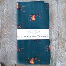 Toasted Crumpet Stag Tea Towel