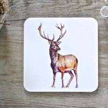 Toasted Crumpet Stag Coasters Set of 4