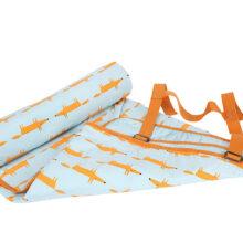 Scion Mr Fox Picnic Blanket Blue