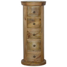 Granary Royale Slim Drum Chest with 5 Drawers