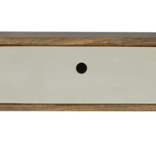 Inclined Wood Wall Mounted Bedside Table