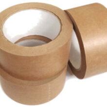 Brown Kraft Paper Parcel Tape 48mm x 50m